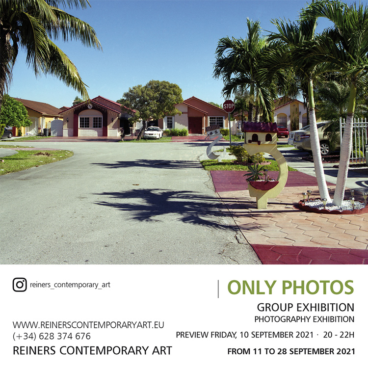 Photo Exhibition in october 2021 in Marbella, at Reiners Contemporary Art Gallery