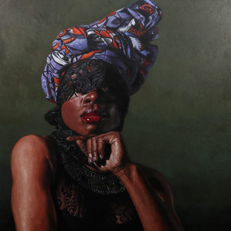 Painting exhibition in Marbella of Idowu Oluwaseun at Reiners Contemporary Art Gallery